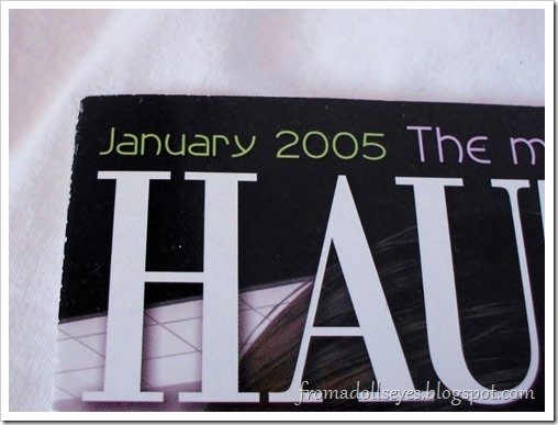 Bjd Lifestyle: Haute Doll Magazine, The Bjd Issue? January 2005