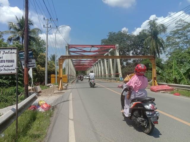 Jembatan Paringin bakal Ditutup Total, Arus Pengendara Roda 2 dan 4 Dialihkan