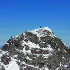 Vincent, pratiquement au sommet du gartlitz. Il est à gauche, à droite c'est le cairn hein...