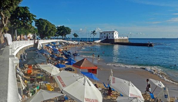 Salvador Fort und Praia