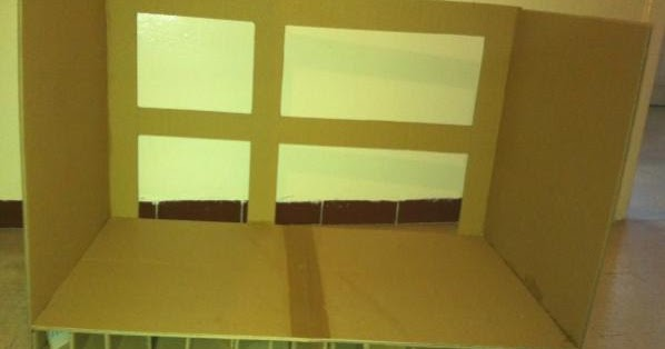 tuto meuble tv en carton. Black Bedroom Furniture Sets. Home Design Ideas