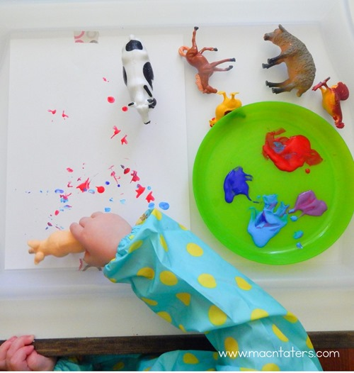 Mrs. Wishy Washy Inspired Art & Activities
