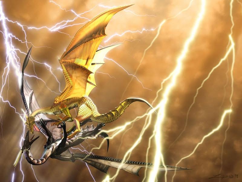 3d Battle Dragon, Dragons