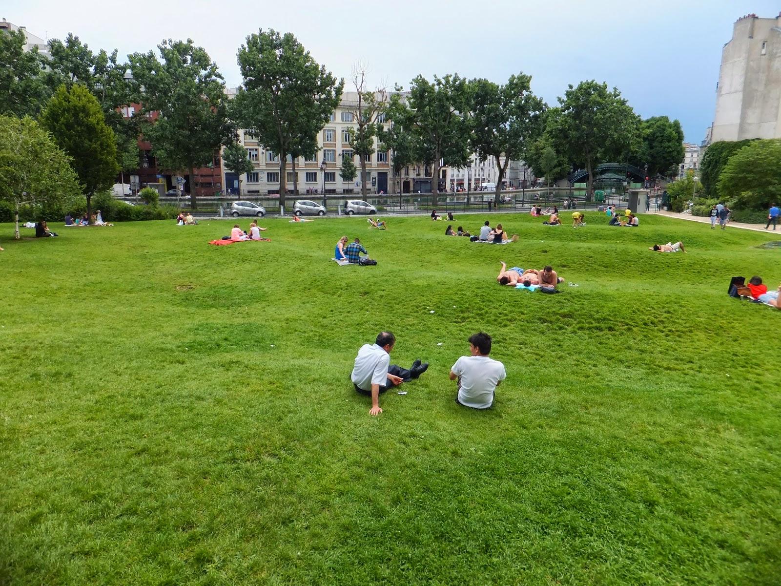 Parc Villemin, París