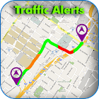 Traffic Alerts with Navigation icon