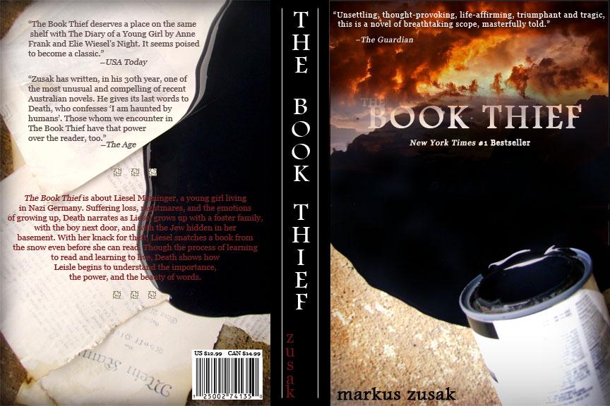 THE BOOK THIEF: NEW COVER DESIGN
