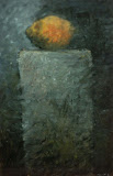cardinal / huile toile / 40x60 / 1995