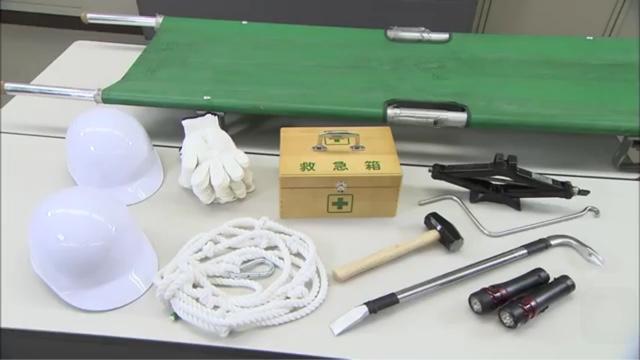 Peralatan menolong korban terjebak reruntuhan, Jepang
