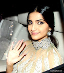 Sonam Kapoor at SRK Edi Party 2013. pic/ yogen shah
