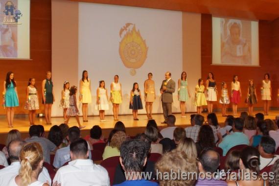 Las preseleccionadas por el Marítimo Homenajeadas en el paraninfo de la Universidad Politécnica.
