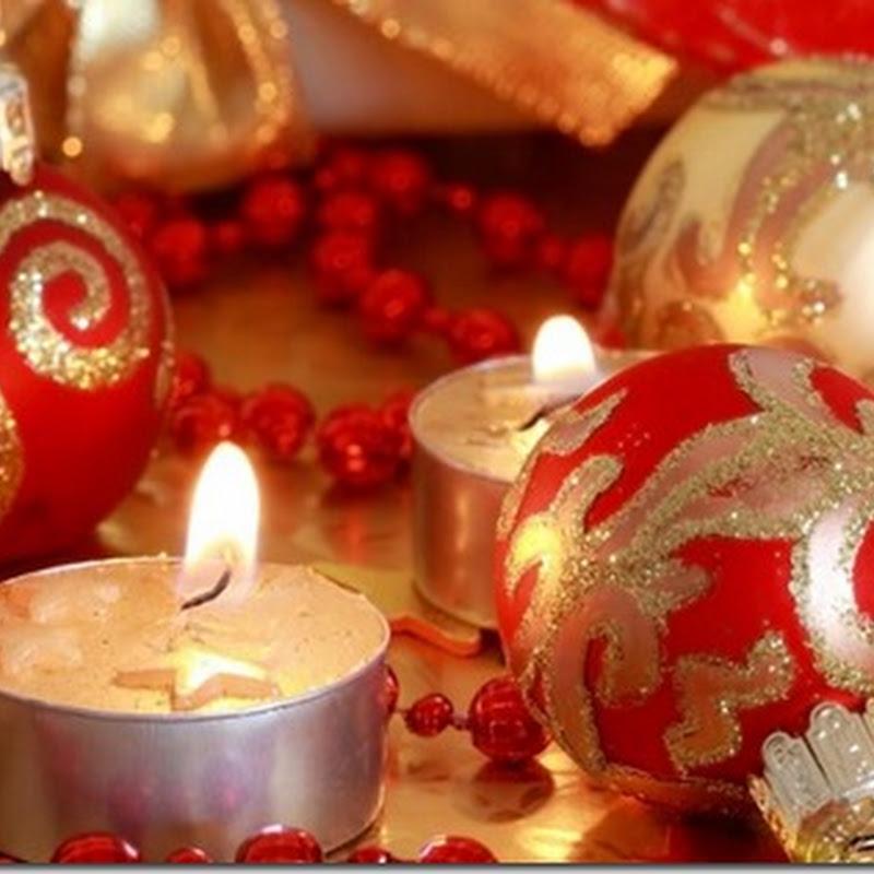 velas Fotos de centros de navidad