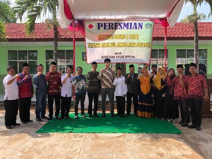 Jepang Renovasi Sekolah di Lampung