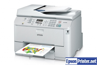How to Reset Epson WorkForce WP-4533 printer – Reset flashing lights error