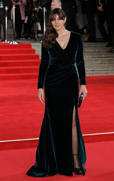 Monica Bellucci attends the Royal Film Performance of Spectre