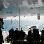 Freedom III dive deck