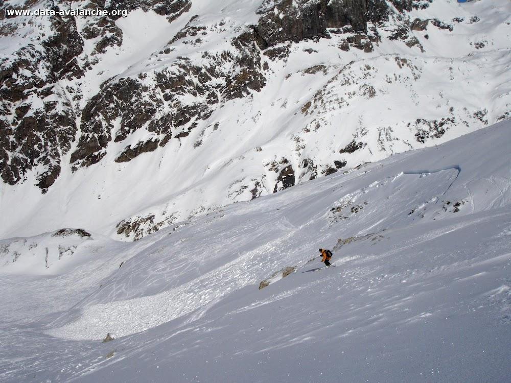 Avalanche Haute Tarentaise, secteur Col de l'Iseran, Valonet, Fornet, Val d'Isère - Photo 1