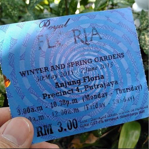 harga tiket musim sejuk dan musim bunga