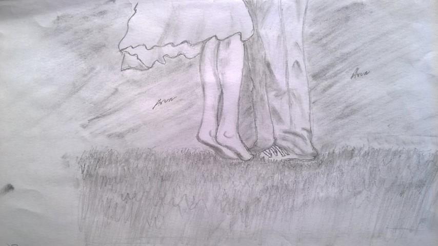 Cute love drawings pencil art
