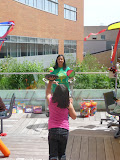 Children's Party at Lutheran General Hospital, Sunday