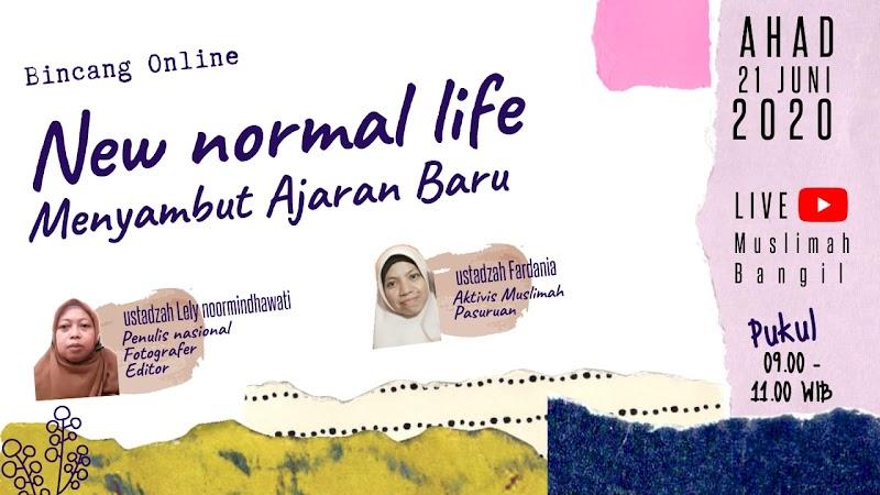 Bincang Online Wacana New Normal Life Sambut Ajaran Baru