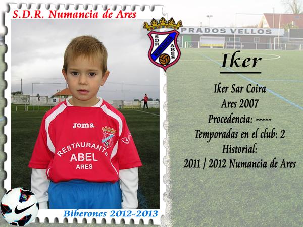 ADR Numancia de Ares. Iker.