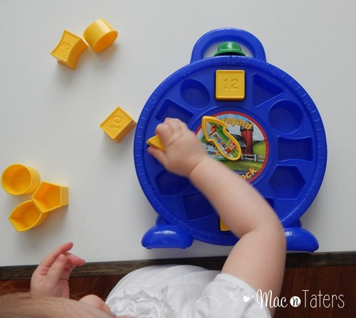Shape Puzzles are the perfect tot tray activity for learning and practicing shapes.