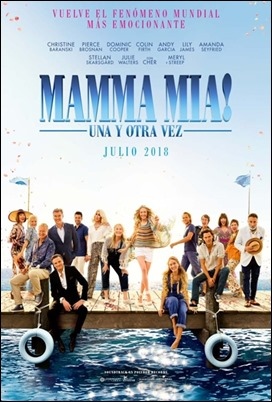 Poster Mamma Mia Here We Go Again