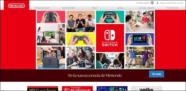 Abrir mi cuenta en Nintendo