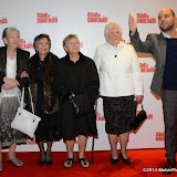 WWW.ENTSIMAGES.COM -    Vera Sime, Sheila Douglass, Eileen Pullen and Gwen Davis arriving at     Made In Dagenham - press night at Adelphi Theatre London November 5th 2014Comedy musical based on the hit British film.                                                  Photo Mobis Photos/OIC 0203 174 1069