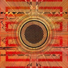 generative digital art deco