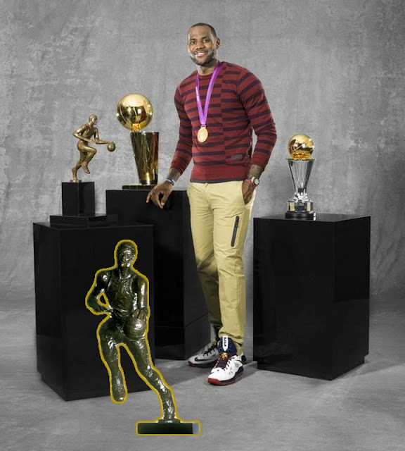 LeBron James Joins Elite Company Wins 4th NBA MVP Award