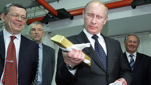 Putin Russia Gold