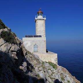 Φάρος ακρωτήρι Μαλέας - Cape Maleas lighthouse (Jan. 2018)