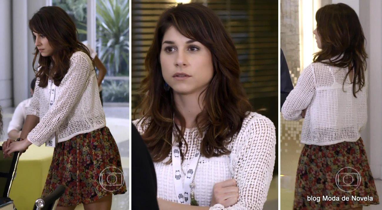 moda da novela Geração Brasil, look da Manuela dia 15 de agosto