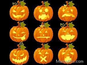 halloween-calabaza-clipart-pumpkin-CARAS