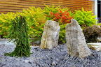 Orillia Waterfall Stone and Black Flagstone
