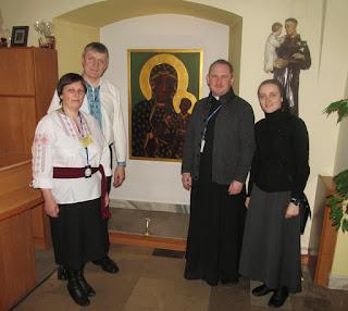 """""""Про Домашню Церкву і про Майдан"""" на радіо Ясна Гура в Ченстохові."""