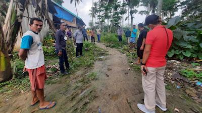 Wawali Baubau,  Tinjau Lokasi yang Dikeluhkan Warga Kecamatan Bungi