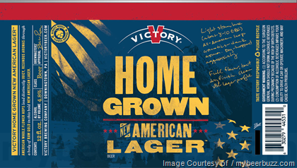 Victory Home Grown Lager 12oz can