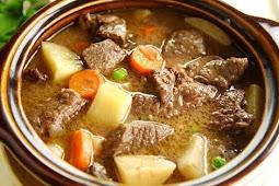 Resep Beef Stew Rendang Khas Belgia