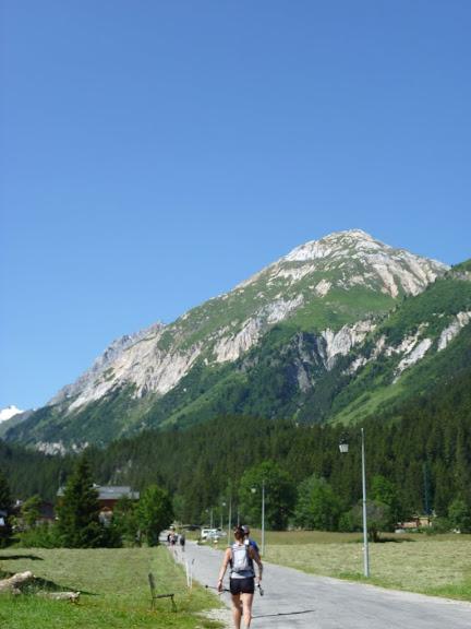 En route vers le Petit Mont Blanc