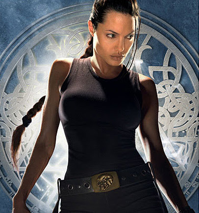Angelina in Tomb Raider