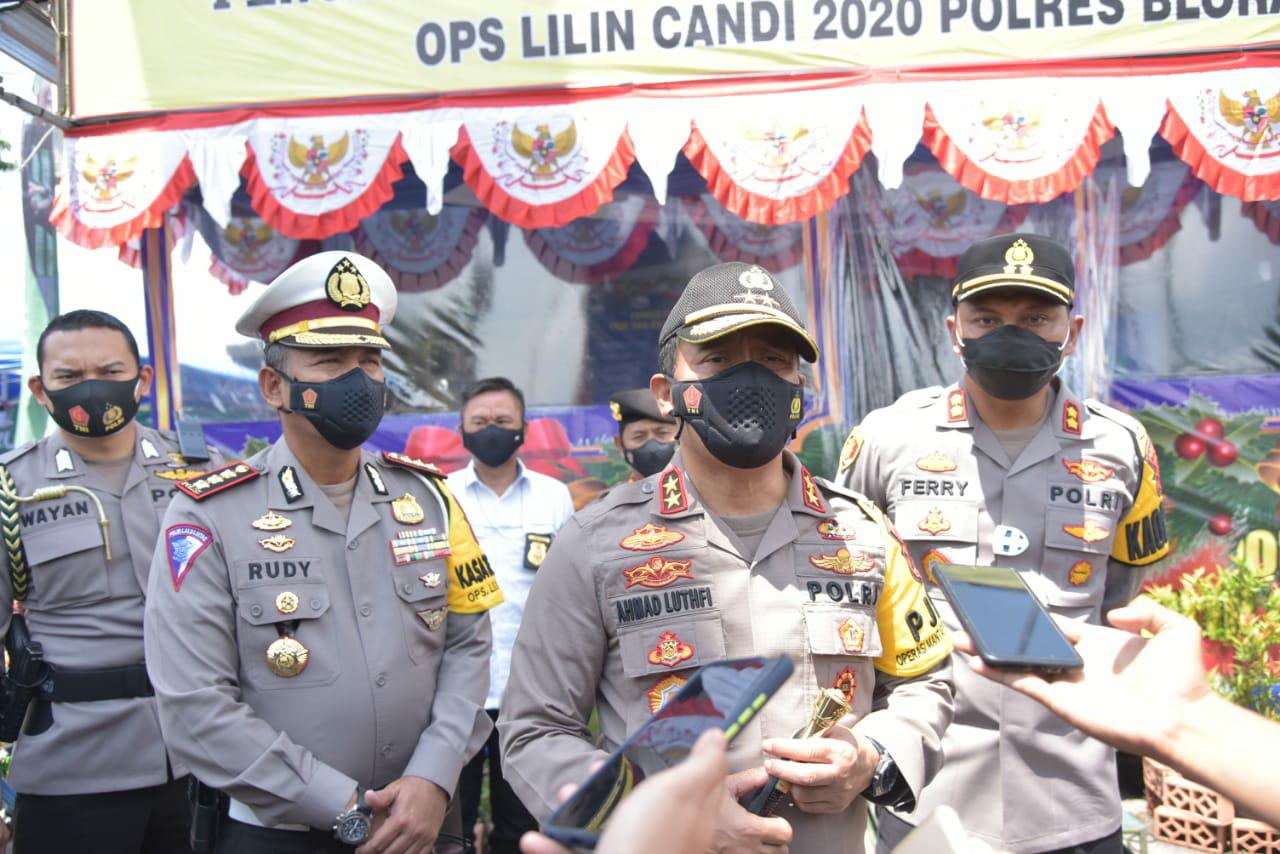 Polda Jateng Akan Menindak Tegas Bagi Yang Membunyikan Petasan Pada Perayaan Pergantian Tahun Baru 2021