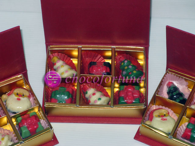 Coklat Natal Sekat  6 Book