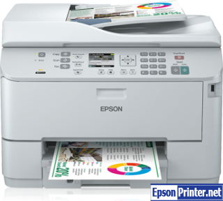 How to Reset Epson WorkForce WP-4592 flashing lights problem