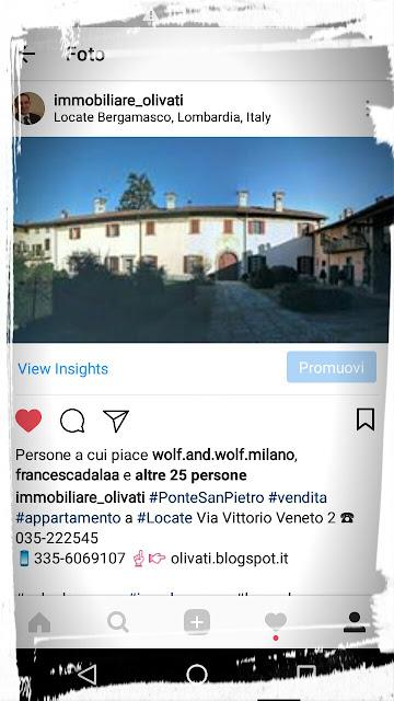 Olivati Bergamo marketing Immobiliare Ponte San Pietro