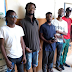 Lmao: Drama on Social Media as Six persons arrested for destroying campaign posters in Lagos chillignly Smile For the Camera [Photos]