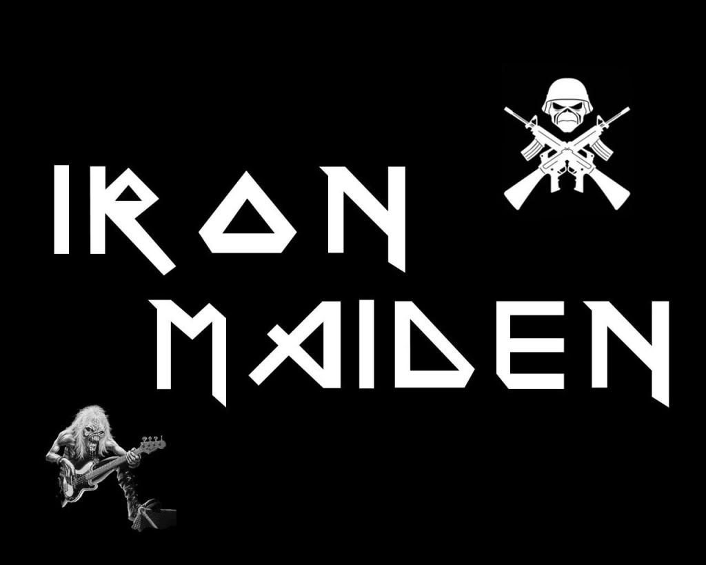 history of all logos all iron maiden logos