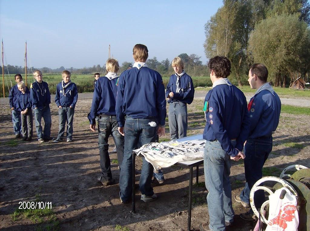 Installatie Bevers, Welpen en Zeeverkenners 2008 - HPIM2165.jpg