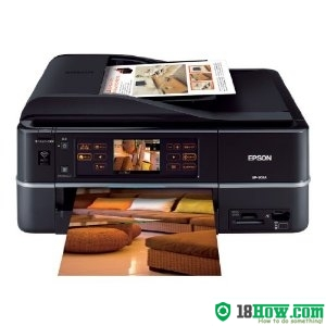 How to reset flashing lights for Epson EP-903A printer